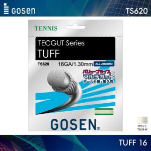 ゴーセン GOSEN タフ 16 TUFF 16 TS620 テニス ガット ストリング