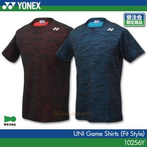 ヨネックス:YONEX ゲームシャツ(フィットスタイル)10256Y 男女兼用 ゲームウェア ゲームシャツ バドミントン テニス