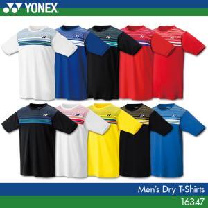 ヨネックス バドミントンウェア ドライTシャツ 16347 メンズ 男性用 バドミントン テニス YONEX