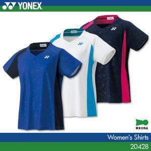 ヨネックス:YONEX ゲームシャツ 20428 レディース:女性用 ゲームウェア ゲームシャツ バドミントン 日本バドミントン協会審査合格品