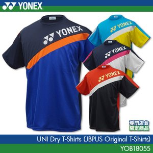 ヨネックス:YONEX 専門店会オリジナルTシャツ 切替Tシャツ YOB18055 ユニドライTシャツ バドミントンTシャツ