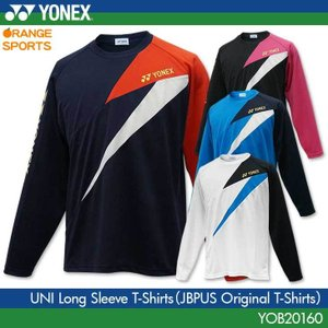 ヨネックス バドミントン 専門店会オリジナル ロングTシャツ YOB20160 ユニ 長袖Tシャツ ...