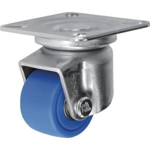 シシク 低床重荷重用キャスター 自在 50径 MC車輪 三価クロメート ( HJ-50U-MC ) シシクSISIKUアドクライス(株)|orangetool