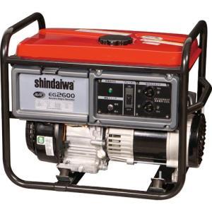 新ダイワ ガソリンエンジン発電機 2.6kVA(60Hz) ( EG2600-B ) (株)やまびこ|orangetool
