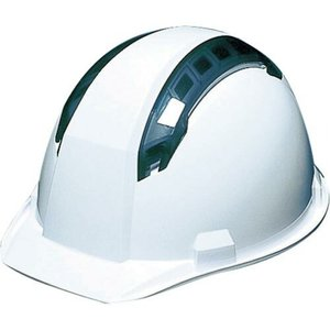 DIC A07-WV型ヘルメット 白 ( A07-WV-HA1E-KP-W ) DICプラスチック(株)安全資材営業部 orangetool