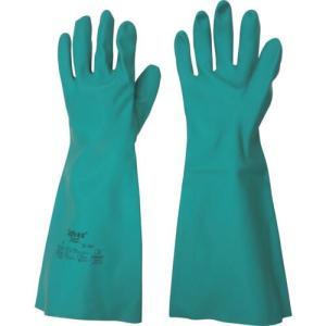 トワロン 耐薬品ニトリルゴム手袋 アルファテックソルベックス 37-165 L ( 165-L ) (株)東和コーポレーション orangetool