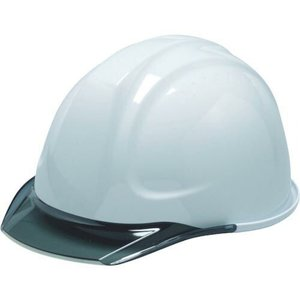 DIC SYA-C型ヘルメット 白/スモーク ライナー付 ( SYA-C-SFE-KP-W/S ) DICプラスチック(株)安全資材営業部 orangetool
