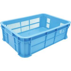 リス MB型メッシュコンテナーMB-210BX 青 ( MB-210BX  B ) 岐阜プラスチック工業(株)|orangetool