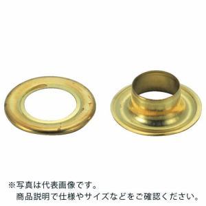 TRUSCO 両面ハトメ 真鍮 7mm 50組入 ( P-THP-B7 ) トラスコ中山(株)|orangetool