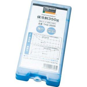 TRUSCO 保冷剤 350g 強冷タイプ ( THZ-350S ) トラスコ中山(株)|orangetool