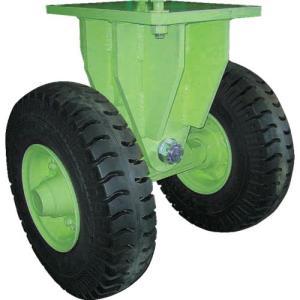 佐野車輌 超重量級キャスター ダブル固定車 荷重2400kgタイプ ( 286-2 ) (株)佐野車輛製作所|orangetool