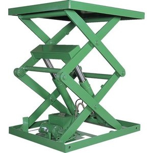 アカシン 怪力くん 1tonシリーズ 2段 テーブル1200×2000mm ( 2ATL-24T ) (株)アカシン orangetool