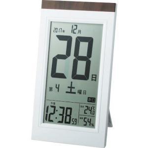 ADESSO デジタル日めくり電波時計 ( KW9254 ) アデッソ(株)|orangetool
