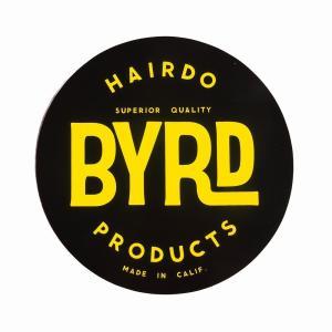 BYRD/バード  ステッカー  ロゴ サークル Lサイズ|orbit