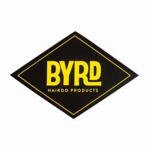 BYRD/バード   ステッカー ロゴ ダイヤモンド orbit