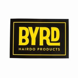 BYRD/バード   ステッカー ロゴ スクエア orbit
