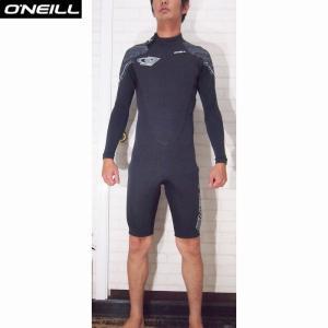 O'NEILL/オニール  ウェットスーツ 国内流通モデル SUPER FREAK/スーパーフリーク 3×2LSスプリング 春・秋用ウェットスーツ ブラック×ジグザグブラック|orbit
