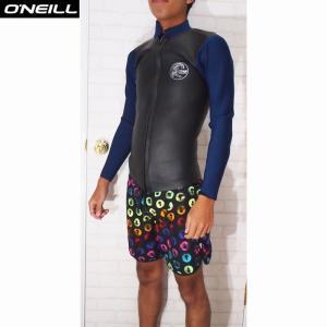 O'NEILL/オニール ウェットスーツ  SUPER LIGHT CLASSIC LTD/スーパーライトクラシックリミテッド 2×1.5 LSジャケット  スキンブラック×ネイビー|orbit