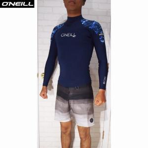 O'NEILL/オニール  ウェットスーツ 国内流通モデル 日本サイズ SUPER FREAK/スーパーフリーク 1.5×1 LSタッパー Dネイビー×リキッドネイビー 2サイズ|orbit