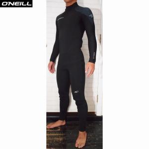 O'NEILL/オニール  ウェットスーツ 国内流通モデル 日本サイズ SUPER FREAK/スーパーフリーク 3ミリフルスーツ  ブラック×リーフィーゼブラ 2サイズ|orbit