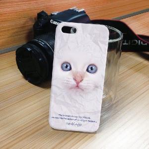 iPhone 5S/5 iPhone SE アニマルフェイス ペルシャ猫 白 ハードケース スマホカバー PC ポリカーボネート|orcdmepro