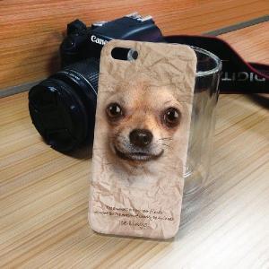 iPhone 5S/5 iPhone SE アニマルフェイス チワワ 犬 ハードケース スマホカバー PC ポリカーボネート|orcdmepro