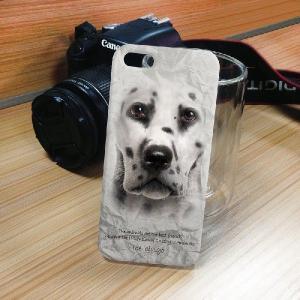 iPhone 5S/5 iPhone SE アニマルフェイス ダルメシアン 犬 ハードケース スマホカバー PC ポリカーボネート|orcdmepro