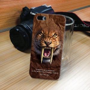 iPhone 5S/5 iPhone SE アニマルフェイス ヒョウ 豹 ハードケース スマホカバー PC ポリカーボネート|orcdmepro