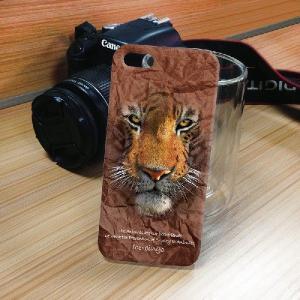iPhone 5S/5 iPhone SE アニマルフェイス トラ 虎 タイガー ハードケース スマホカバー|orcdmepro