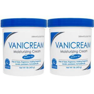 バニクリーム モイスチャライジングスキンクリーム453g [ヤマト便] ×2本 Vanicream Moisturizing Skin Cream (without pump)【代引不可能商品】|orchid