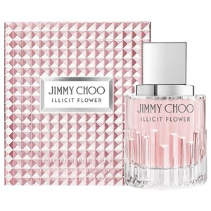 ジミーチュウ イリシット フラワー EDT オードトワレ SP 40ml JIMMY CHOO ILLICIT FLOWER EAU DE TOILETTE SPRAY|orchid|01