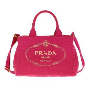 PRADA プラダ 1BG439 CANAPA/FUXIA 手提げバッグ|orchid