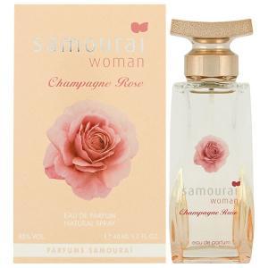 アランドロン サムライ ウーマン シャンパン ローズ EDP オードパルファム SP 40ml  ALAIN DELON SAMOURAI WOMAN CHAMPAGNE ROSE EAU DE PARFUM SPRAY|orchid