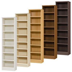 本棚 書棚 飾り棚 整理棚 レディメイドラック 幅44.2 奥行31 高さ178cm|ordershunostyle
