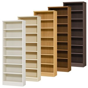 本棚 書棚 飾り棚 整理棚 レディメイドラック 幅59.2 奥行31 高さ178cm|ordershunostyle
