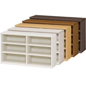 本棚 書棚 飾り棚 整理棚 レディメイドラック 幅116.5 奥行31 高さ60cm|ordershunostyle