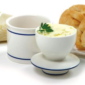 Norpro バターキーパー バターを1ヶ月常温保存でき、バターが柔らかいまま使えます。バターベル バターケース  バター保存 保管 保存容器 陶磁器 セラミック|oremeca
