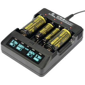 XTAR エクスター VP4 14500 18650 対応 リチウムイオン IMR 電池 USB充電器  バッテリーチャージャー 高速 急速 充電池 IMR マルチサイズ対応 Li-ion|oremeca