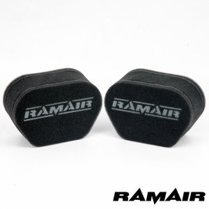 RAMAIR ラムエア 2連セット  エアフィルター Z1/Z2/KZ900/KZ1000 Z100...