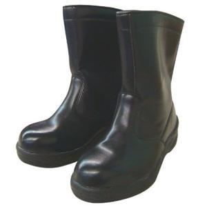 コーコス信岡 百式・半長靴/HZ-704 ブラック/25.5cm|oretachi