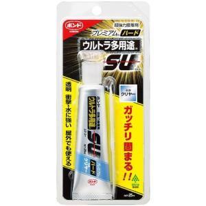 コニシ ボンドウルトラ多用途SUプレミアムハード/05144_2088TM クリヤー/容量(ml):25|oretachi