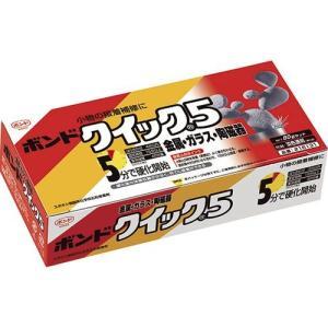 コニシ エポキシ系接着剤2液タイプ ボンドクイック5/BQS80_2088 容量(g):80|oretachi