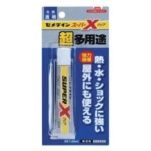 セメダイン 多用途接着剤 スーパーX クリア/20ml|oretachi