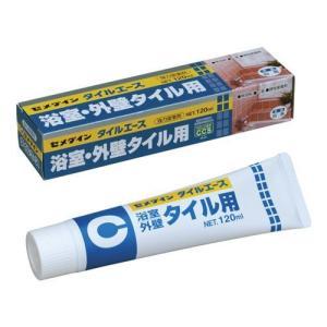 セメダイン 浴室・外壁・タイル用接着剤 タイルエース 120ml|oretachi