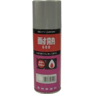 シントー 耐熱用スプレー 黒 300ML