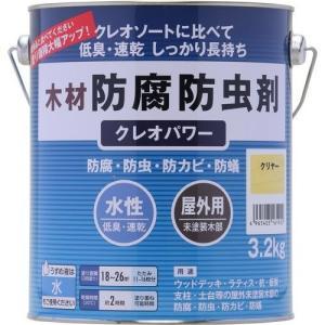 クレオソートに比べて低臭、速乾、長期間保護。 ●容量3.2kg。●色名クリヤー。●乾燥時間約1時間(...