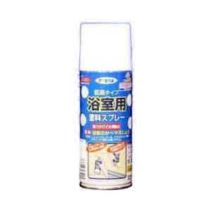 アサヒペン 浴室用塗料スプレー/300ML 白 白