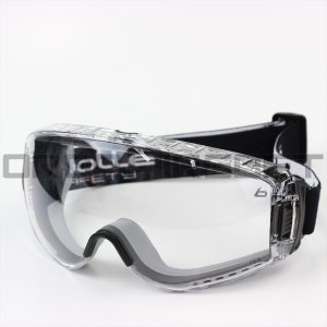 bolle ボレーセーフティ PILOT 2 CLEAR LENS TOP VENT CLOSED|orga-airsoft