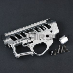 IRON AIRSOFT F1 FIREARMSレシーバー GRAY 東京マルイMWS用|orga-airsoft