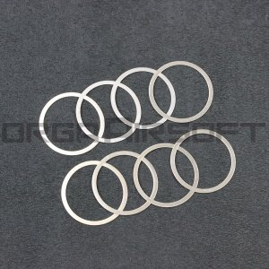 LAYLAX バレルナット調整用シムリング 0.1mm|orga-airsoft